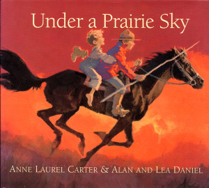 Under a Prairie Sky Book Cover